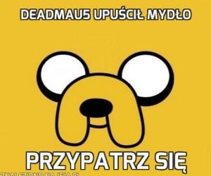Deadmau5 upuścił mydło