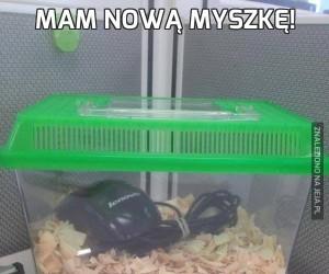 Mam nową myszkę!