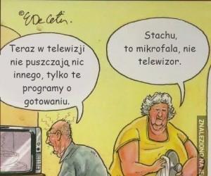 To nie telewizor