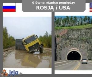 Rosja vs USA - Drogi