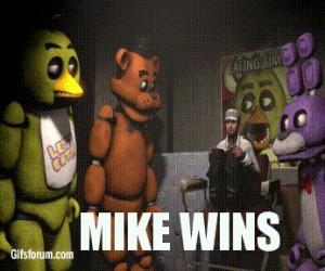 Mike Wygrał!
