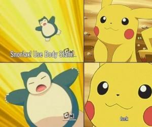 Pikachu ma przerąbane