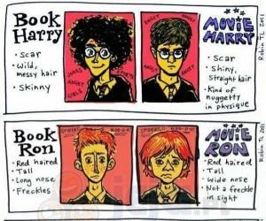 Harry Potter: Książka vs Film