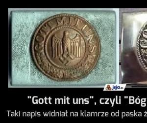 """""""Gott mit uns"""", czyli """"Bóg jest z nami"""""""