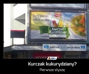 Kurczak kukurydziany?