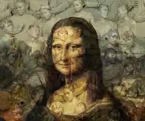 Mona Lisa na żywych ludziach