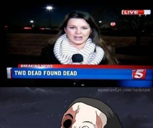 Dwoje martwych odnaleziono martwych