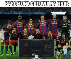 Barcelona gotowa na finał