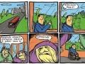 Chamstwo w autobusie