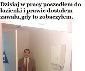 Niespodzianka w toalecie