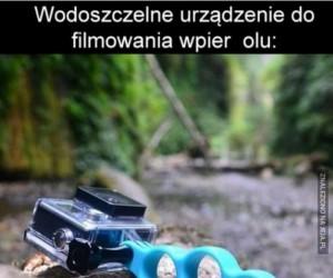 Filmowanie łomotu