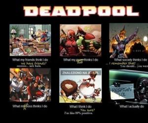 Deadpool z różnych punktów widzenia