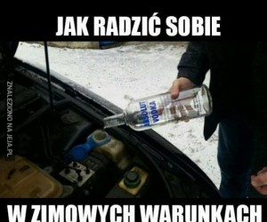 Zimowe warunki