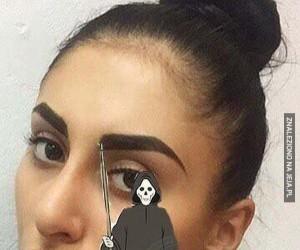 Śmiertelny makijaż