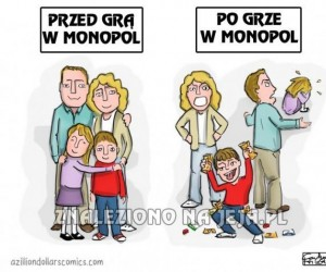 Monopol niszczy rodziny