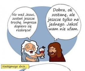 Jezus po imprezie