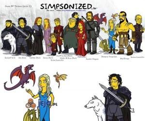 Gra o Tron w stylu the Simpsons