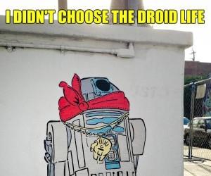 Nie wybrałem życia droida