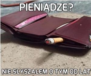 Pieniądze?