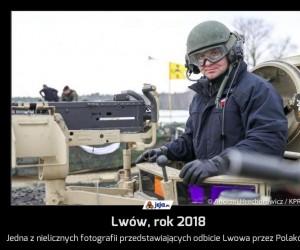 Lwów, rok 2018
