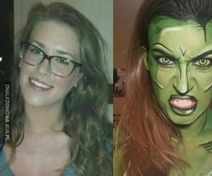 Przemiana w She-Hulk