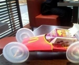 McDonald's zaprezentował swój bolid F1