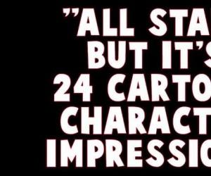 All Star, ale jako postacie z kreskówek