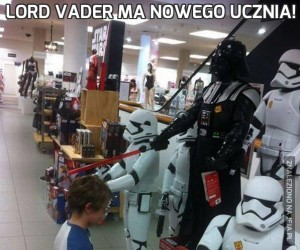 Lord Vader ma nowego ucznia!