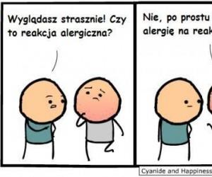 Reakcja alergiczna
