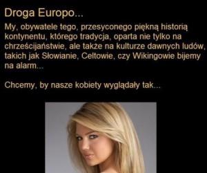 Europo, powiedz stop!