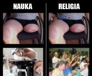 Nauka vs religia