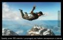 Spadaj przez 300 metrów i przyciągnij się hakiem zaczepionym o ziemię