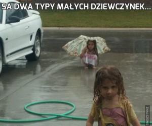 Są dwa typy małych dziewczynek...