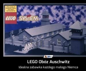 LEGO Obóz Auschwitz