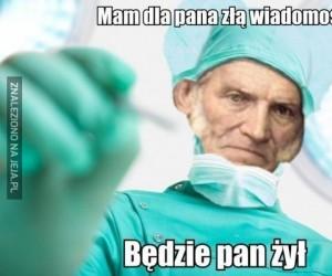 Schopenhauer nie nadaje się na lekarza