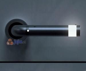 Klamka z wbudowaną latarką