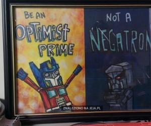 Bądź optymistą!