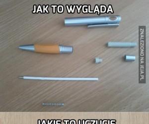 Rozkręcanie długopisu