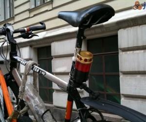 Znicz - światełko rowerowe