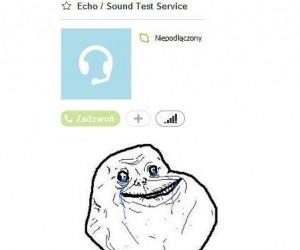 Tak bardzo samotny...