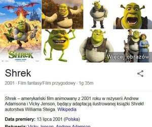 Shrek według Google - autentyk