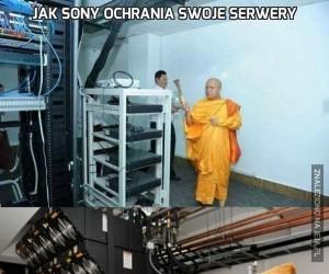 Jak Sony ochrania swoje serwery