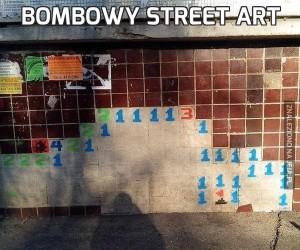 Bombowy street art