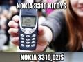 Nokia 3310 kiedyś i dziś