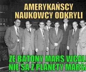 Amerykańscy naukowcy i Mars