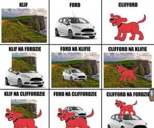 Po rozmawiajmy o klifach i Fordach