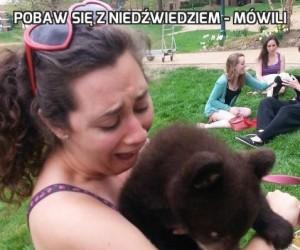 Pobaw się z niedźwiedziem - mówili