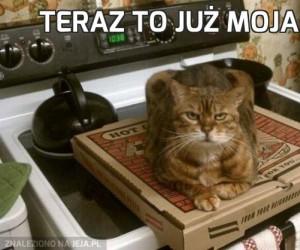 Teraz to już moja pizza