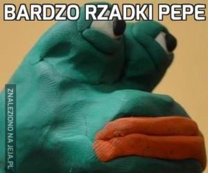 Bardzo rzadki Pepe