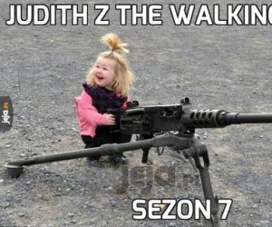 Judith z The Walking Dead